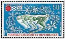 Timbre Sports d'hiver JO Ski Nouvelle Calédonie PA126 ** lot 24202