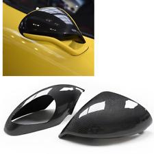 For Porsche 991 Sport 991.2 GT2 GT3 GTS Real Carbon Fiber Side Mirror Cover PAIR
