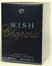 PROFUMO da Chopard Wish 75ml EAU DE PARFUM EDP SPRAY NUOVO E SIGILLATO