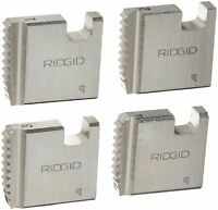 RIDGID 37835 Manual Threader Pipe Dies, Right-Handed Alloy NPT Pipe Dies with