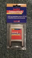 SanDisk CompactFlash PC Card Adapter for Memory Cards (SDCF-05) - Brand New!