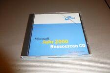 Microsoft Jahr 2000 Ressourcen CD Stand Aug 1999 Vintage-Software f. Nostalgiker
