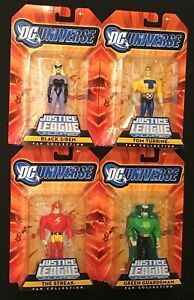 DC Universe Justice League Unlimited Fan Collection The Justice Guild Set of 4