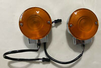 Harley Davidson Genuine OEM #68128-10 REAR TURN SIGNALS YELLOW LENS 01 Or Later
