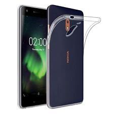 COVER CUSTODIA BUMPER Soft TPU SILICONE GEL per Nokia 2.1 (2018) TRASPARENTE