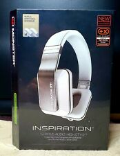 Monster Inspirations White Noise Active Cancelling Headphones NIB & Sealed