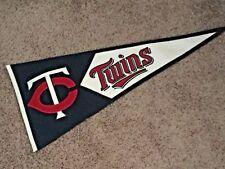 MInnesota Twins Pennant MLB Genuine Wool Blend Winning Streak Baseball 2004