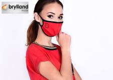 COMMUNITY MASKE Behelf Gesicht Mund Atem Schutz wiederverwendbar 100% Baumwolle