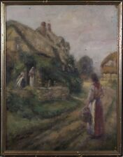 Hungarian School Oil Painting Signed Early 20 Century