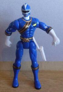Bandai 2001 Wild Forces Blue Shark Power Rangers Figure