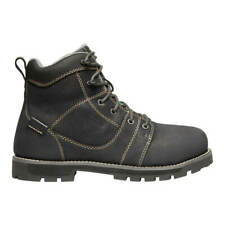 KEEN 1022104 Women's Seattle CSA 6 in. Black/Steel Grey Waterproof Work Boot