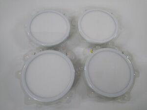 4 Feit LED Downlight Flush Ceiling Light 850 Lumens Dimmable Flush Mount USED