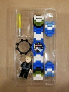 Lego Star Wars 2007 Luke Skywalker Wrist Watch Needs Battery no box