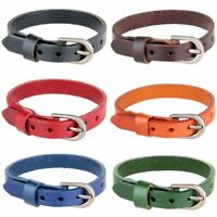 Fashion Punk Men Women Wide Leather Belt Bracelet Cuff Wristband Bangle