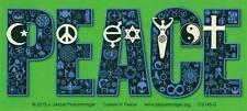 Coexist In Peace - Bumper Sticker / Decal