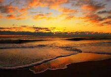 TROPICAL BEACH OCEAN SUNSET MOUSE PAD  9 X 7