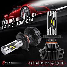 2x H4 9003 HB2 CSP LED Headlight Kit Bulbs Conversion High Low Beam 6000K 7600LM