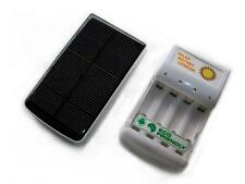 solar AA/AAA battery charger w/function of charging