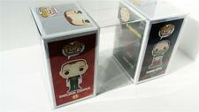 "100 FUNKO POP! Box Protectors For 4"" Vinyl Figures  Crystal Clear Display Cases"