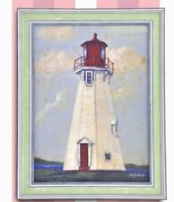 Wall Painting Picture Canvas Wooden Frame Art Modern Design -Lighthouse 2