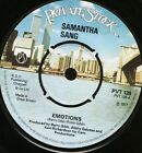 """SAMANTHA SANG emotions/when love is gone PVT 128 uk private stock 1977 7"""" WS EX/"""