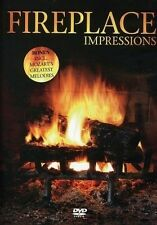 NEW Fireplace Impressions (DVD, 2006) +Mozart's Melodies Log Fire Winter Sealed