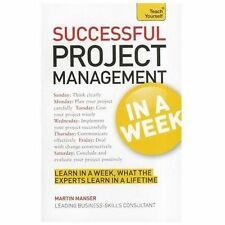 Project Management In A Week: How To Manage A Project In Seven Simple Steps  Ver