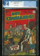 Boy Commandos #12  PGX  7.0  FN/VF  Universal
