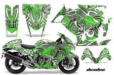 Amr Racing Graphic Kit Suzuki GSXR 1300 Hayabusa GSX Busa Bike Decal Wrap DEAD G