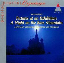Mussorgsky: Kader aus einer'Belichtung,ein Nacht auf Monte Calvo Von Dohnanyi CD