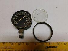 Vintage Pressure meter / Gauge 2.75 inch 0-50 Antique La Crosse MMCLE Corp