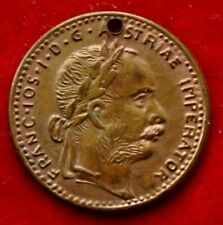 V98) Kaiser Franz Josef I. Kriegs- Jeton 1914