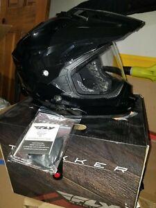 Fly Racing Trekker Dual Sport Adventure Motorcycle Helmet Large