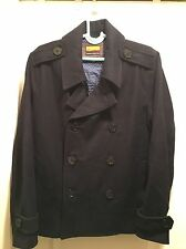 Men's Brooklyn Industries pea coat Black
