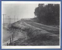 1908 PHOTOGRAPH LONG BEACH SEA SIDE PARK ROAD TO SAN PEDRO C. C. PIERCE 8x10