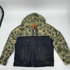 New Levi Strauss co mens jacket Justin Timberlake camo Sz XL Cotton Q465