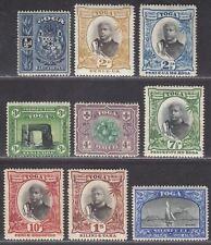 Tonga 1897 QV Pictorial Part Set to 2sh Mint