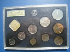 Russia - Year set 1980 in a hard perspex case.