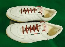 * vintage * GUCCI Italian made men's sneakers / shoes EU 42 US 8.5