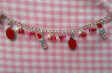 beautiful Glass Costume Charms & Charm Bracelets