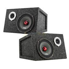 "New listing Pro-X6.4Bm 6.5"" Midrange Speaker Pro-Tw120 Tweeter Custom Sealed Box Package"