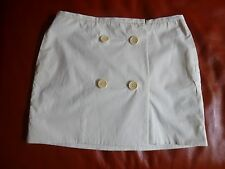 COUNTRY ROAD Womens Birch Button Wrap Skirt- Size 12- BNWT- RRP $ 99.00