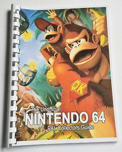 100% Unofficial PAL Nintendo 64 Collectors Guide