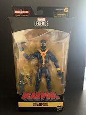 Marvel Legends Deadpool (Blue Yellow) Figure NO BAF Piece X-Men Wolverine Cable