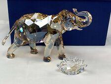 Swarovski Crystal 2013 SCS Cinta Elephant & Plaque #1137207 in Box