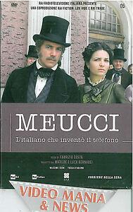 DVD MEUCCI L'ITALIANO CHE INVENTò IL TELEFONO (2 DISCHI) 186''.GHINI D'AQUINO