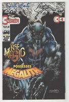 Megalith #4 (Oct 1993, Continuity) Signed [Peter Stone, Ernesto Infante] Adams X