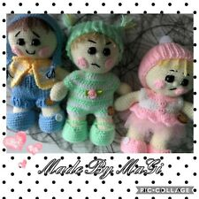 """Little Baby's Handmade Crochet Toy Height  About 8"""""""