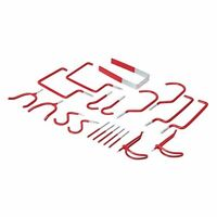 20 Storage Hook Set Garage Shed Bike Garden Hoses DIY Tools Ladders Hooks P466