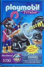 Playmobil Pirata Blackbeard con cañón Importación de Estados Unidos 5730